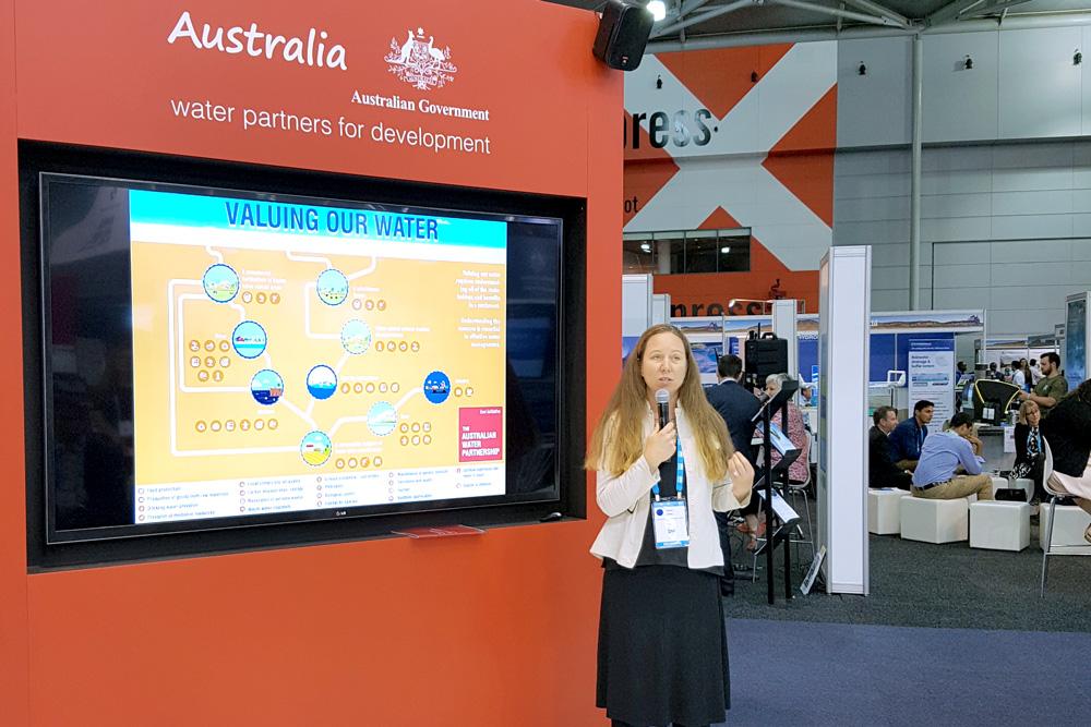 "Karen Delfau, International WaterCenter Alumni Network – ""An Initiative Linking Water Management Peers in Australia and the Asia-Pacific."""