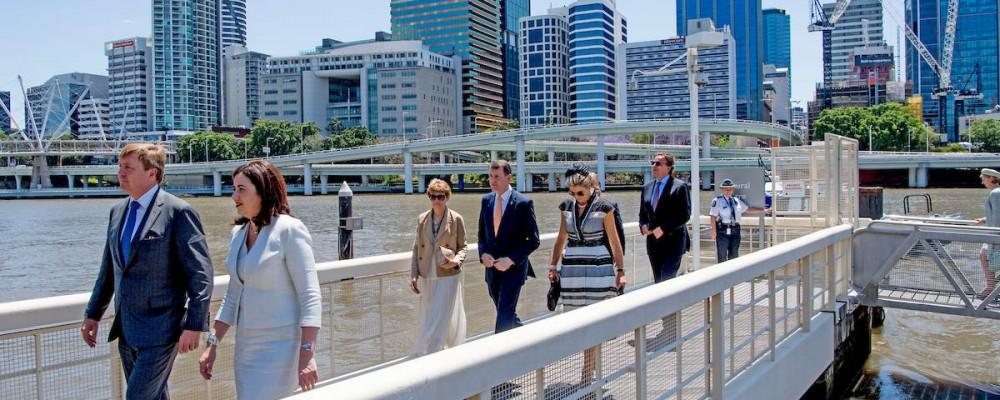 Dutch Royal visit to Brisbane