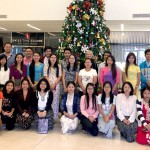 Staff from the Myanmar Hydro-Informatics Centre and the Directorate of Water Resources & Improvement at a river systems modelling training workshop held in Yangon (14-22 Dec 2017), with staff from eWater.