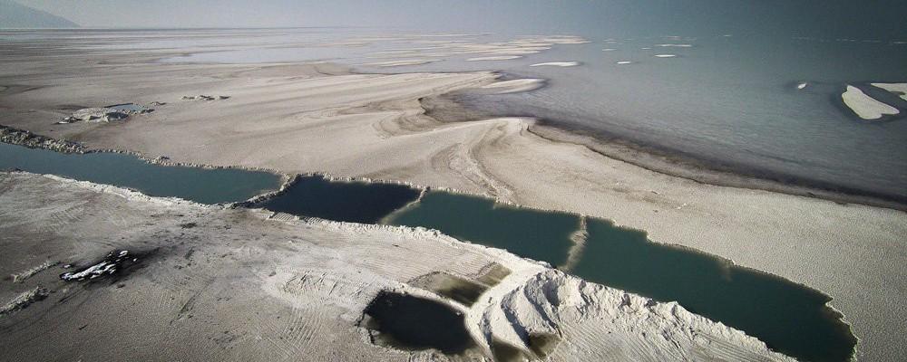 Lake Urmia (Image: Azin Haghighi / MEHR Newsagency)