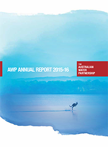 AWP Annual Report 2015-16 cover