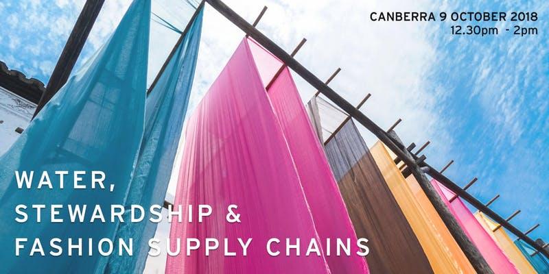Water, Stewardship & Fashion Supply Chains banner
