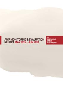 AWP M&E Report 2015-18 cover