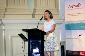 The Hon Anne Ruston giving the opening address at the AWP Partners Workshop, Customs House, Brisbane, 6-7 Feb 2019