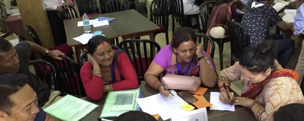 Kamala Basin Stakeholder Workshop on Formulation of Basin Development Goals and Pathways, Janakpur, Nepal, 12-13 July 2018. Credit: Hemant Ojha, Ram Bastakoti, Antonia Gamboa Rocha and Mahesh Shrestha.