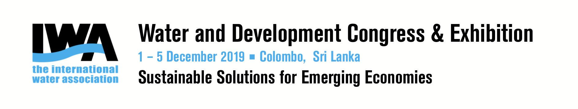 IWA Water and Development Congress & Exhibition banner
