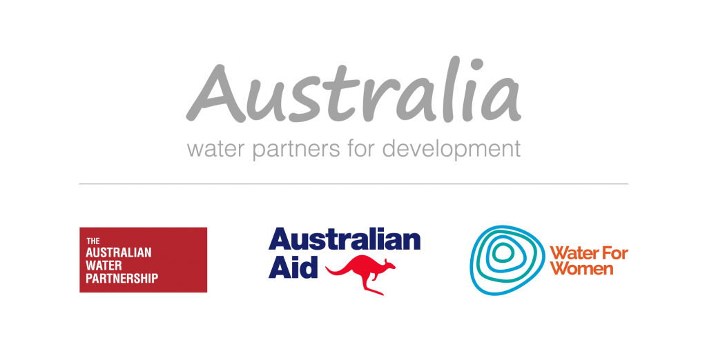 Australia water partners for development logo