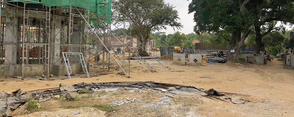 Site visit to the Water Supply and Sanitation Improvement Project in Kilinochchi, Sri Lanka