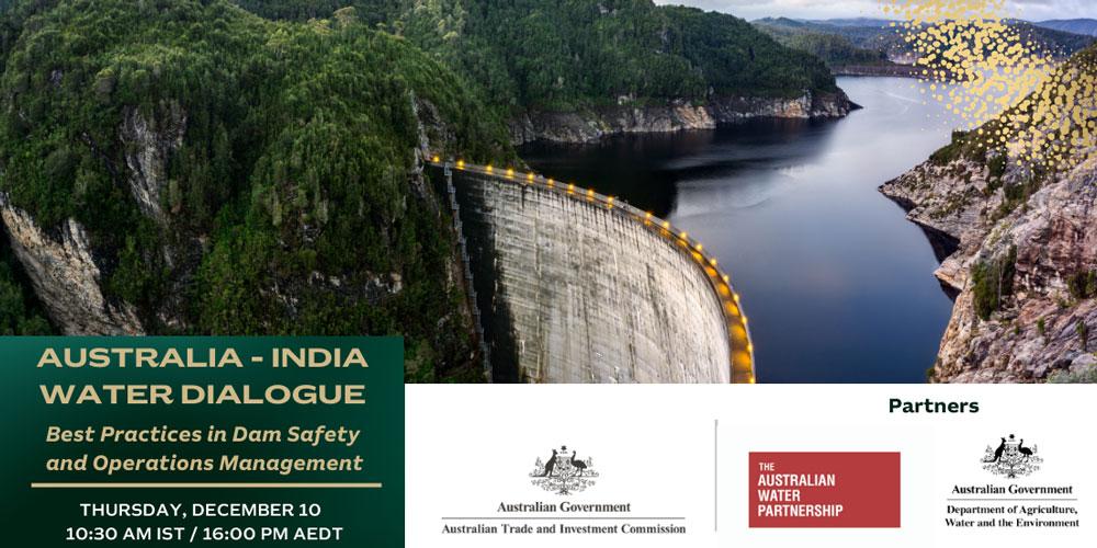 Australia-India Water Dialogue banner (10 Dec 2020)